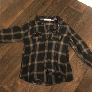 🍁🍁Maurice's flannel button down